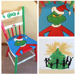 Grinch Chair