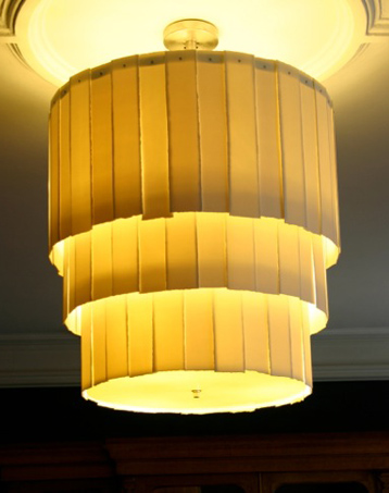 Three Tier Drum Chandelier