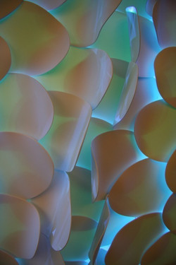 Fish scale Wall Sculpture - Detail