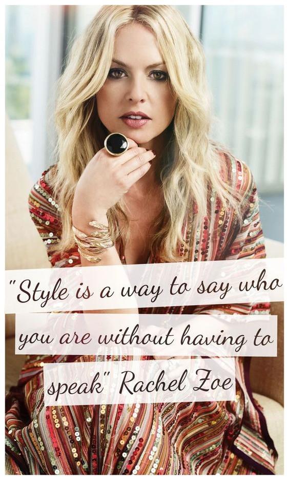 רייצל זואי היא סטייליסטית מדהימה -הסטייל האישי שלך הוא הדרך שלך לומר מי את ללא מילים
