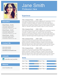 creative resume template - Creative Resumes