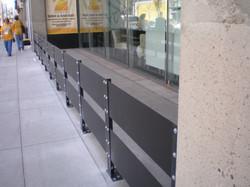 steel divider rail