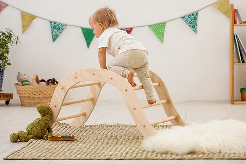 Klimrek boog met ladder