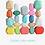 "Thumbnail: kleurrijke houten ""edelstenen"""