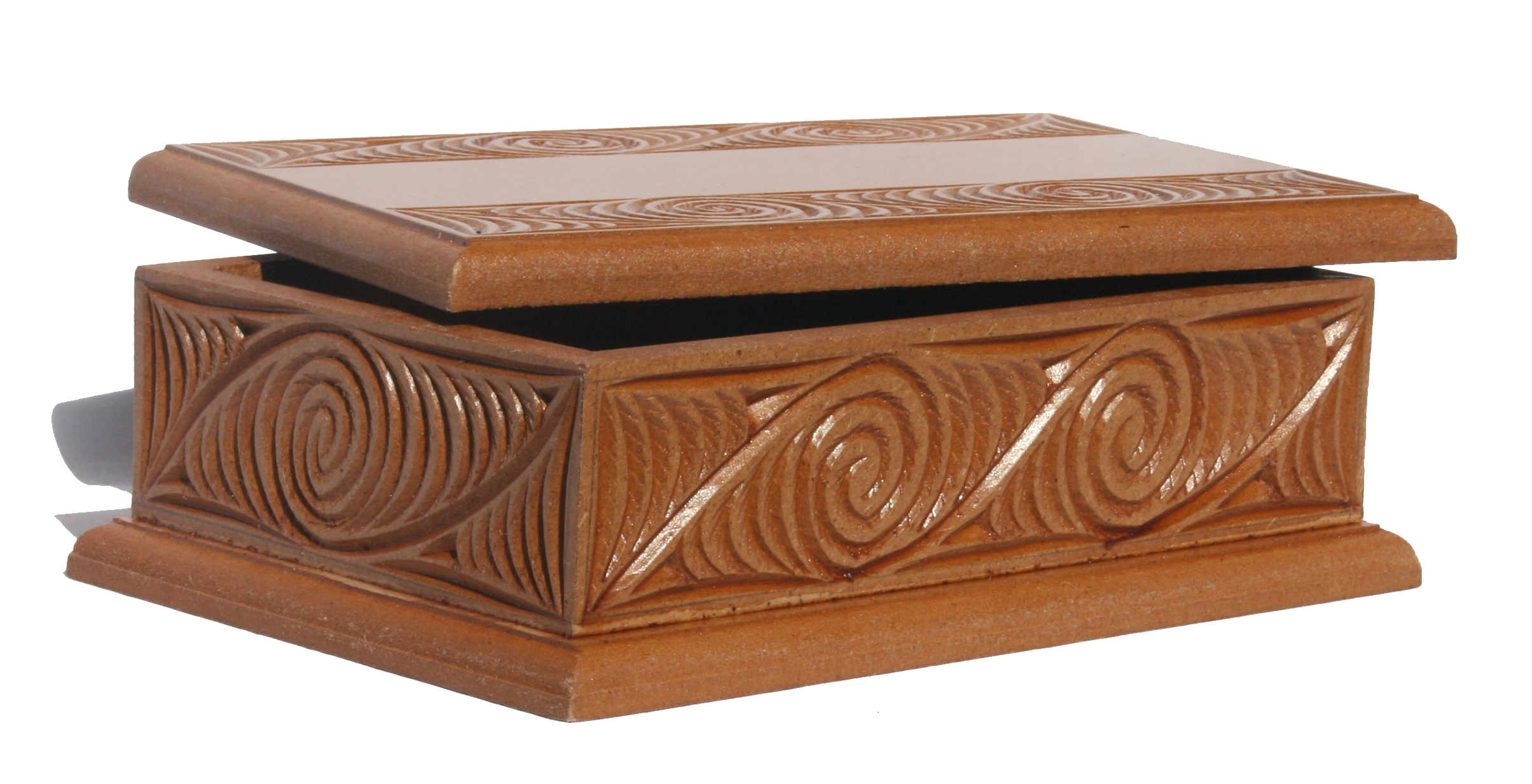 Medium carved box