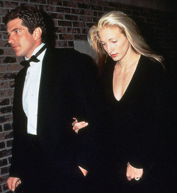 John Kennedy Jr. and Carolyn Bisette