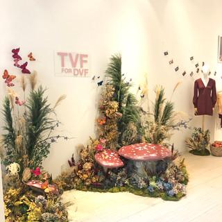TVF Floral Installation