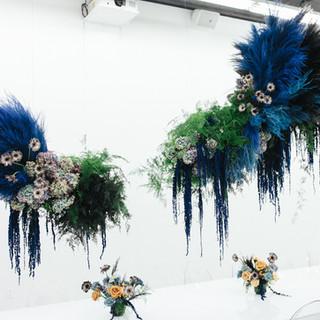 Beam East Olivia Flower Installation