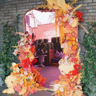 Flower Installation Palms