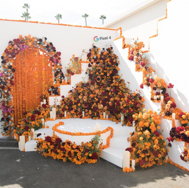 Google Flower Install - East Olivia
