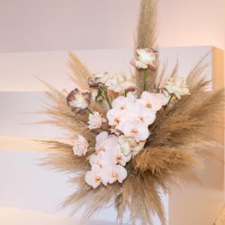 H&M Flower Installation