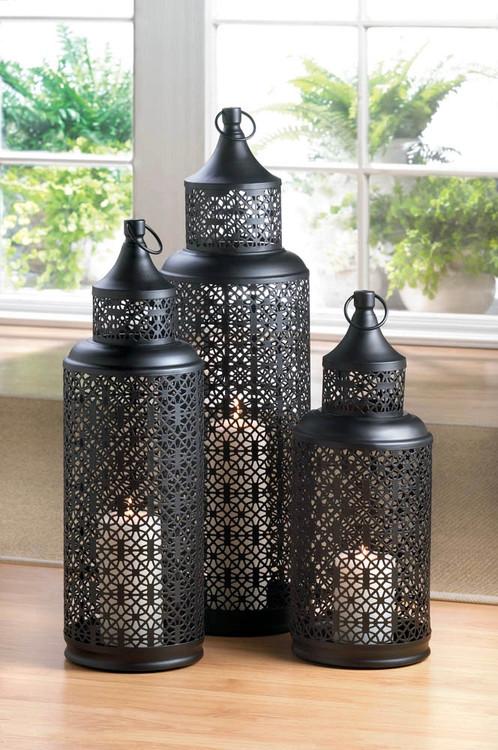 Large Morocco Candle Lantern