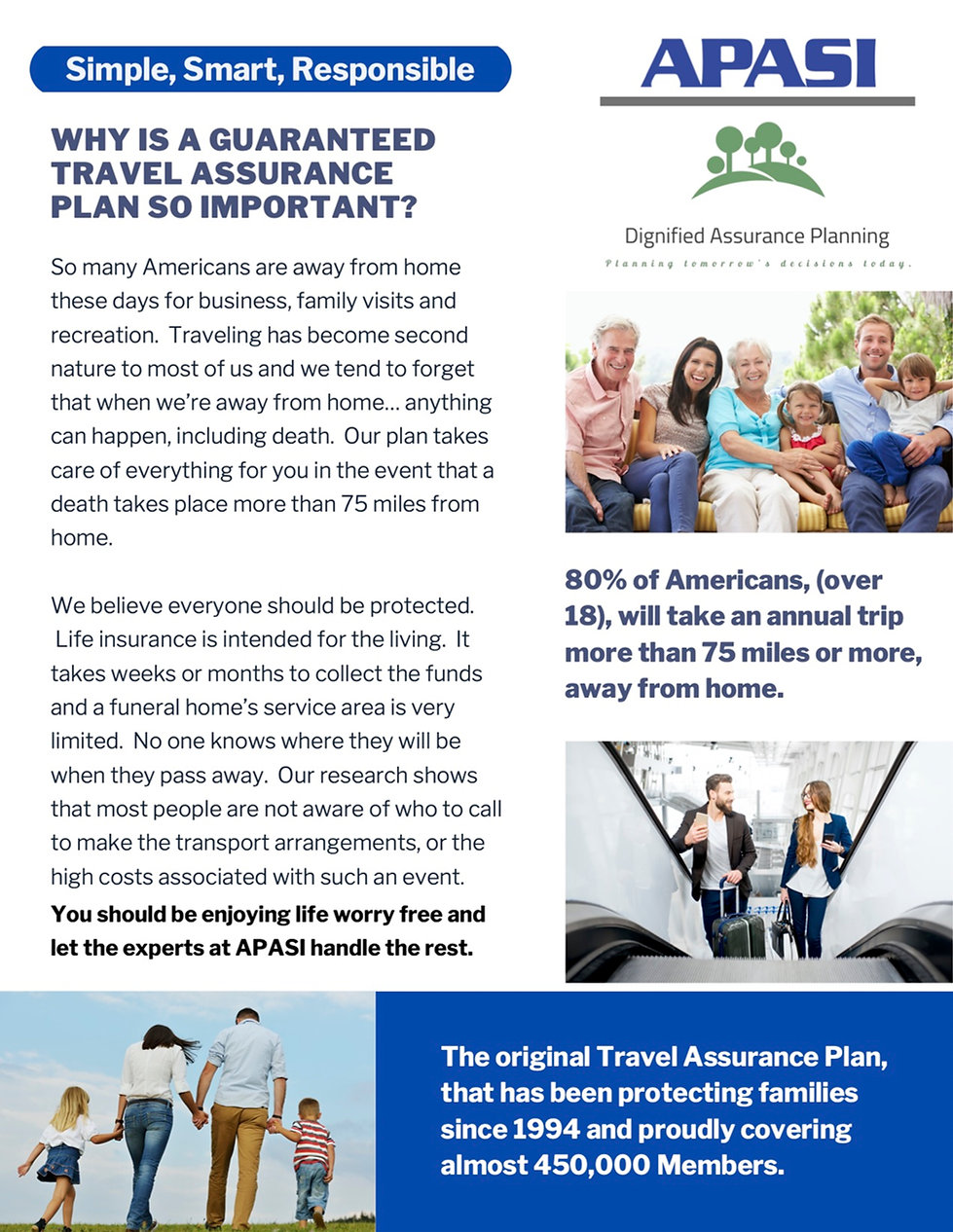Dignified Assurance Planning FH flyer at