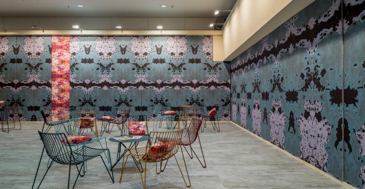 Architekten_Lounge mit Muster