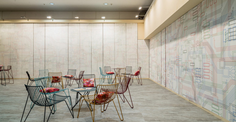 Architekten Lounge Muster