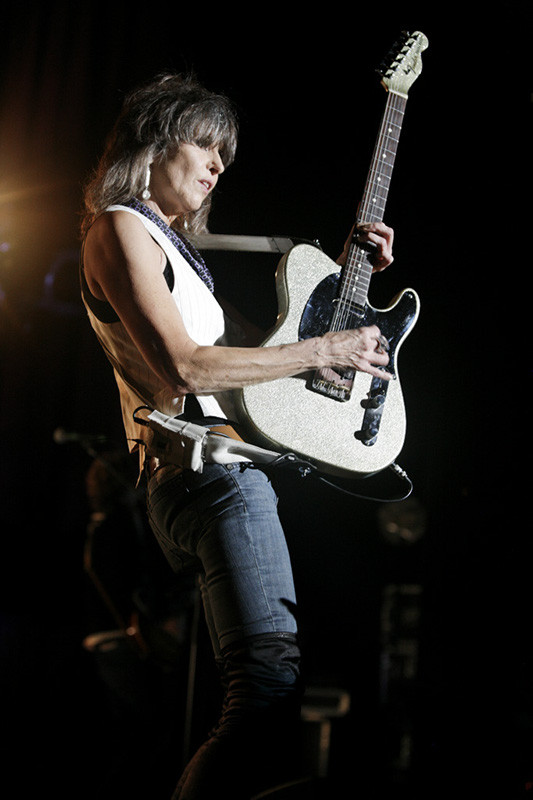 Chrissie Hynde by Harmony Gerber, 2013. Wikicommons license.