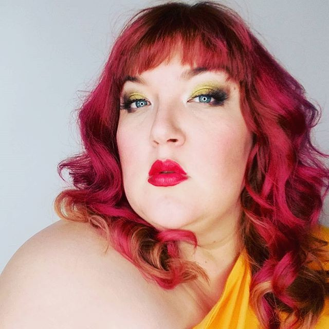 Selfie by me! Hair and makeup by Jodi Vaughn