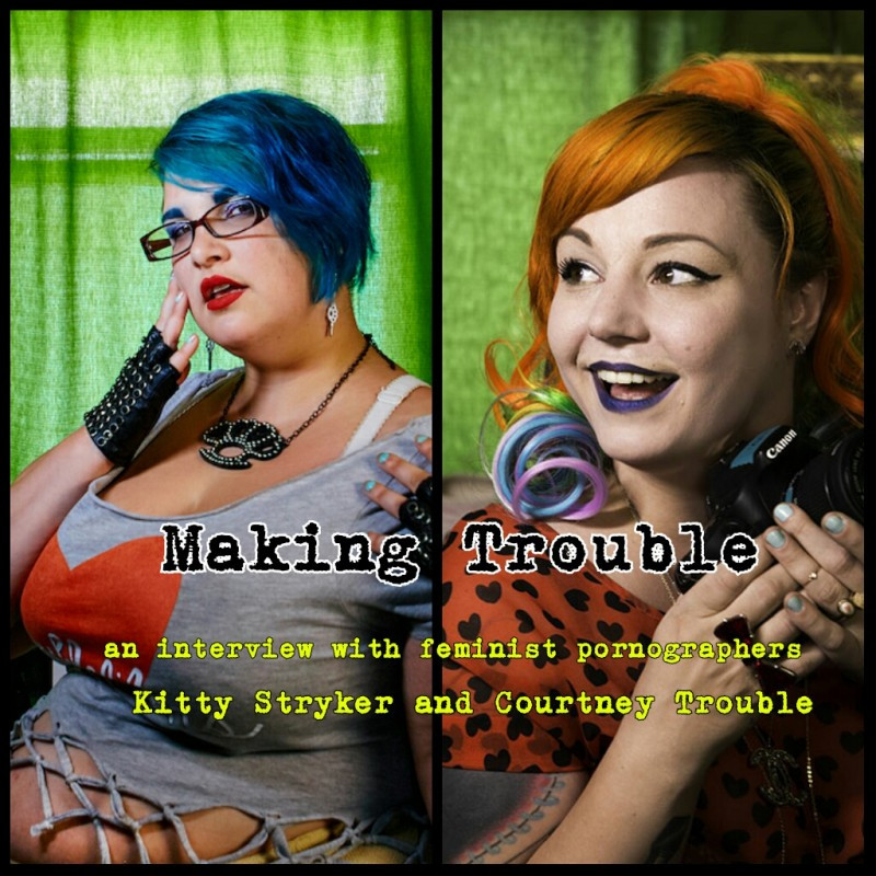 Kitty Stryker and Courtney Trouble by Suma Jane Dark