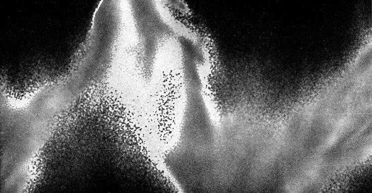 François Grivelet, Sans titre (série Alt/take), 2017, Photographie réalisée à partir de film inversible couleur traité chimiquement.