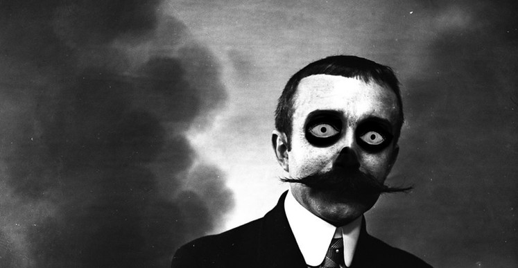 Romuald Martin, le 5 (série Skull), 2017, composition photograpgieque, 40 x 40 cm