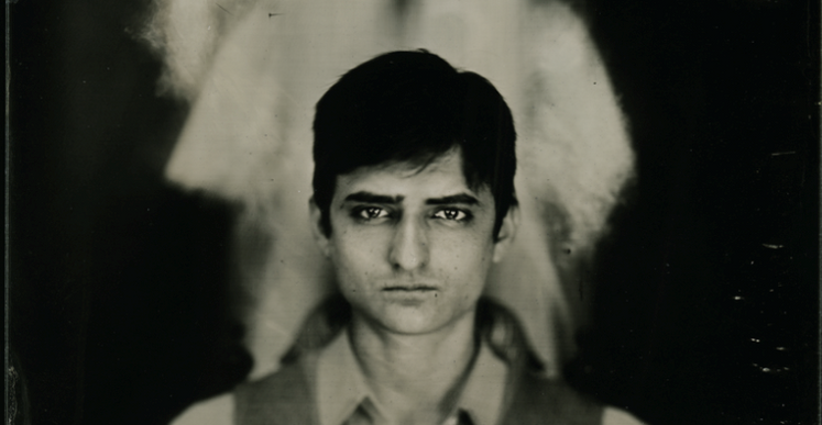 Orlando Pereira dos Santos, Alex #3, 2015, Clear Glass Ambrotype, 18 x 24 cm