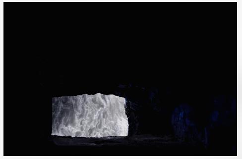Inès Leroy Galan, Série Cavités Spatiales, Cavité IV, 2013,Photographie numérique, 39.9 x 60 cm