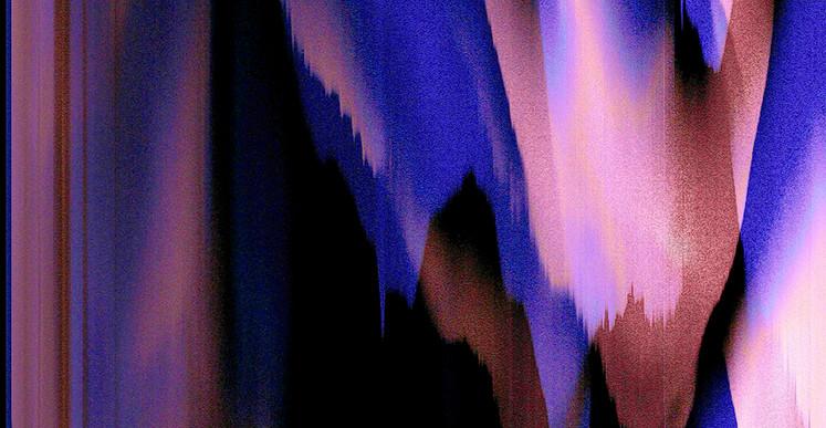 Inès Leroy Galan, Série Glitches, 2012, photographie numérique