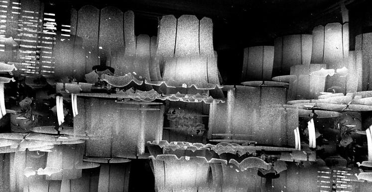 Romuald Martin, Lamps (série Dark Matter), 2017, composition photographique, 40 x 40 cm