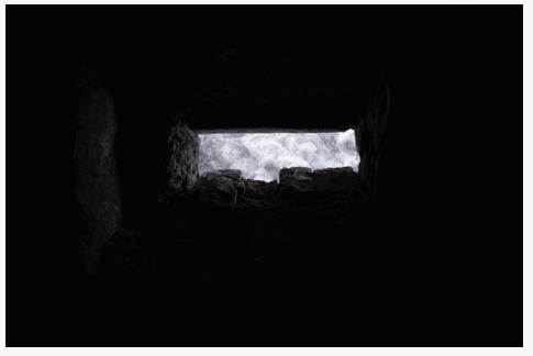 Inès Leroy Galan, Série Cavités Spatiales, Cavité III, 2013,Photographie numérique, 39.9 x 60 cm