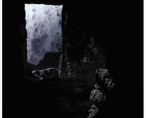 Inès Leroy Galan, Série Cavités Spatiales, Cavité V, 2013,Photographie numérique, 39.9 x 39.9 cm