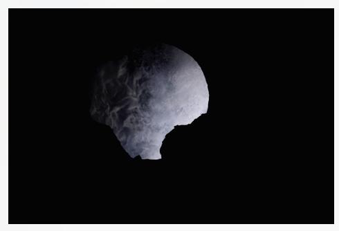 Inès Leroy Galan, Série Cavités Spatiales, Cavité I, 2013,Photographie numérique, 39.9 x 60 cm