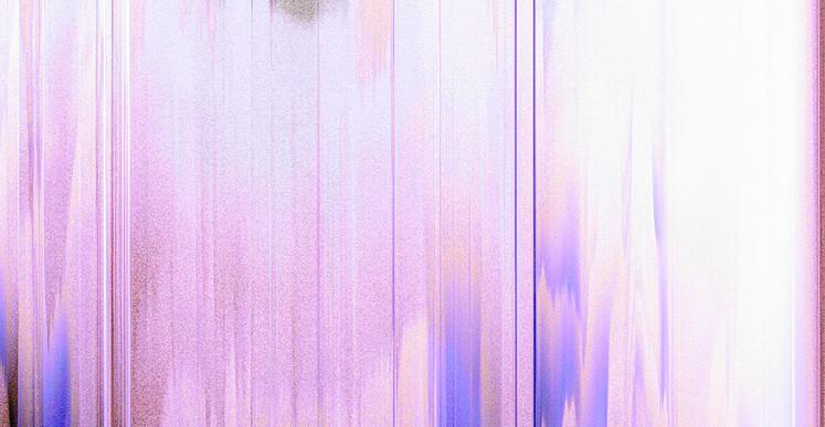 Inès Leroy Galan, Série Glitches, 2012, photographies numérique