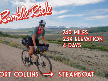 Bikepacking Steamboat Springs to Fort Collins Colorado