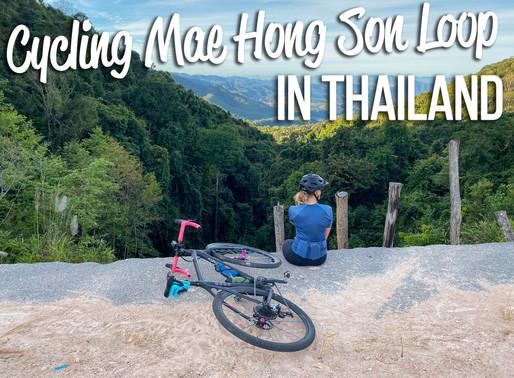 Cycling Mae Hong Son Loop in Northern Thailand