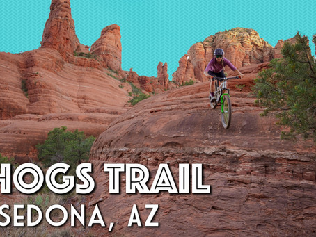 Mountain Biking Hogs Trail in Sedona Arizona