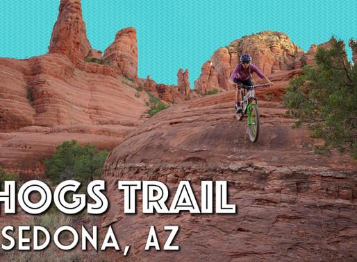 Mountain Biking Hogs Trail in Sedona Arizona
