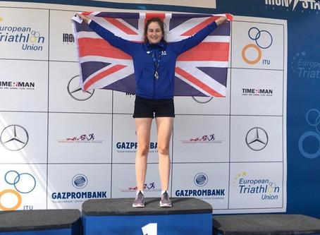 Emma Austin wins big in Russia