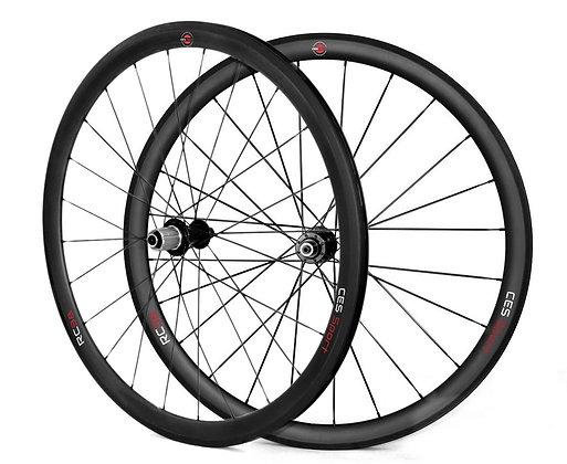 RC38 Clincher Wheelset