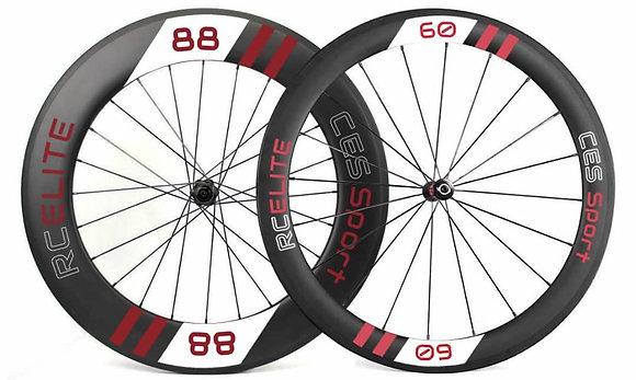 RC60/88 Elite Clincher Wheelset