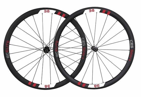 RC38 Elite Clincher Wheelset