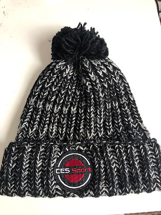 Grey/Black Bobble Hats
