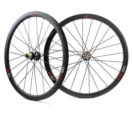 CX38 Tubular Wheelset