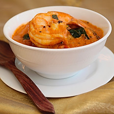 Malabar Coconut Tiger Prawn Curry