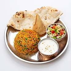 Vegetarian Biryani Set