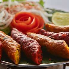Tandoori Chicken & Lamb Kebab