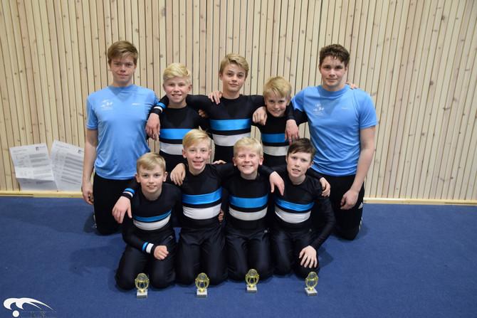 Nasjonal Team Gym Rekrutt konkurranse