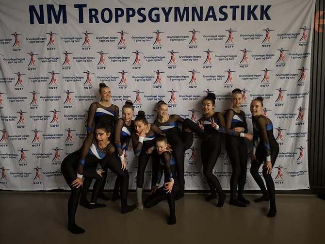 NM TeamGym Junior 23. - 24. november Malvik