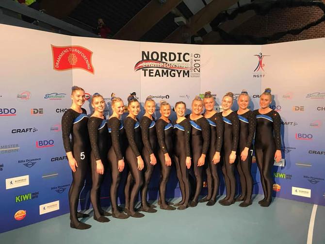 Nordisk mesterskap i TeamGym 2019