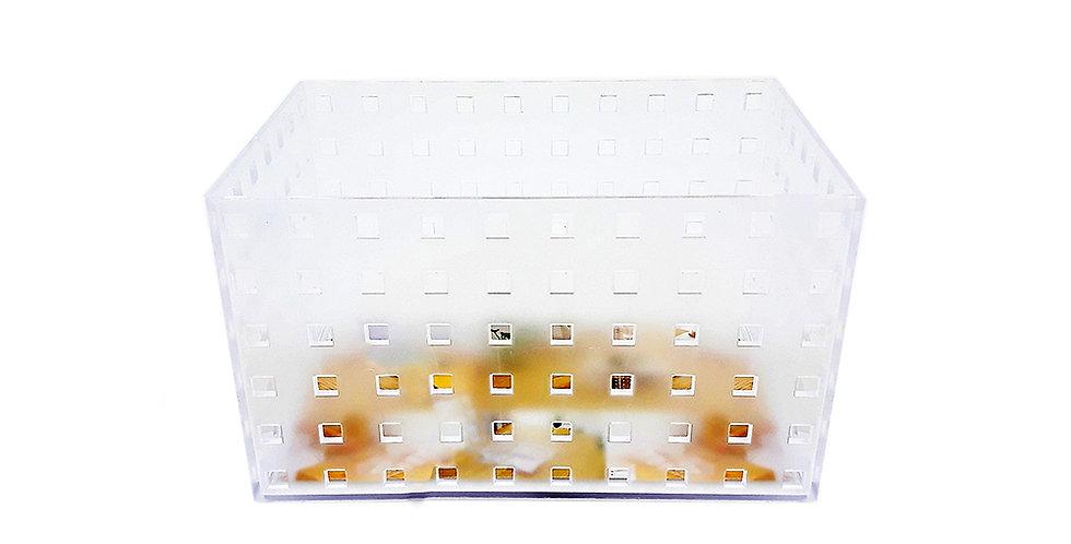 Organizador Apilables Diseño Cuadritos  Size L