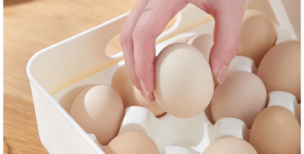 Organizador de Huevo 24 Unidades/ Porta Huevo Plástico/ Huevera